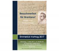 Emmerick Vortrag 2017 Plakat